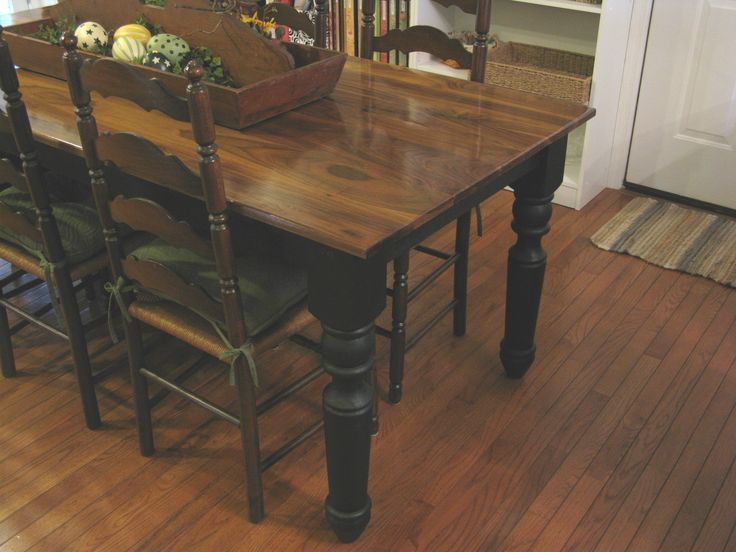 Farm House Style Table Using Osborne Table Legs   Osborne Wood Videos