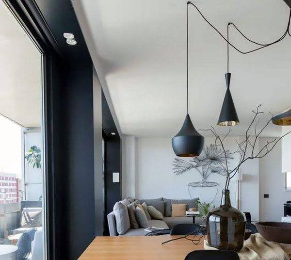 Consejos para iluminar salones. Lámparas colgantes modernas para salones actuales. #iluminación #lamparas