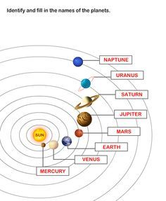 Solar System Worksheet 6 - science Worksheets - grade-1 Worksheets