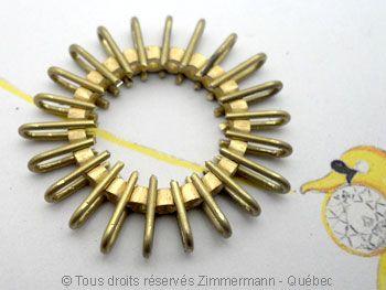 Alliance Éternité…. 22 diamants de 8/100 ct serti griffes sur or jaune - Zimmerman-Québec