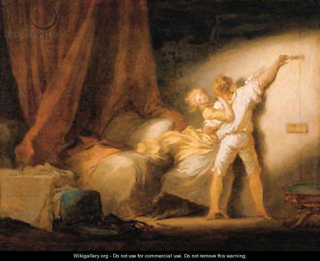 Le Verrou - Jean-Honore Fragonard