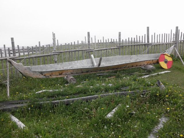 L'Anse aux Meadows National Historic Site Photo Tour: Replica of Norse Boat