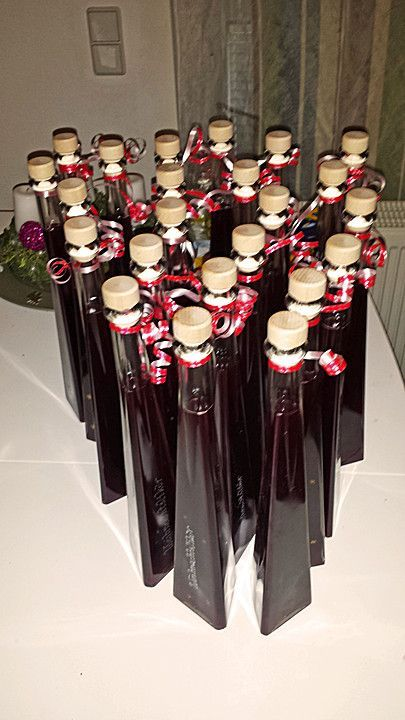 Selbstgemacht: Rotwein-Likör