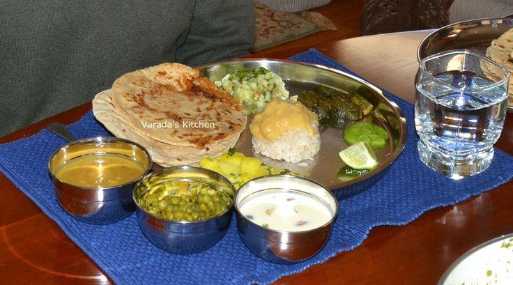 Varada's Kitchen: Maharashtrian Thali