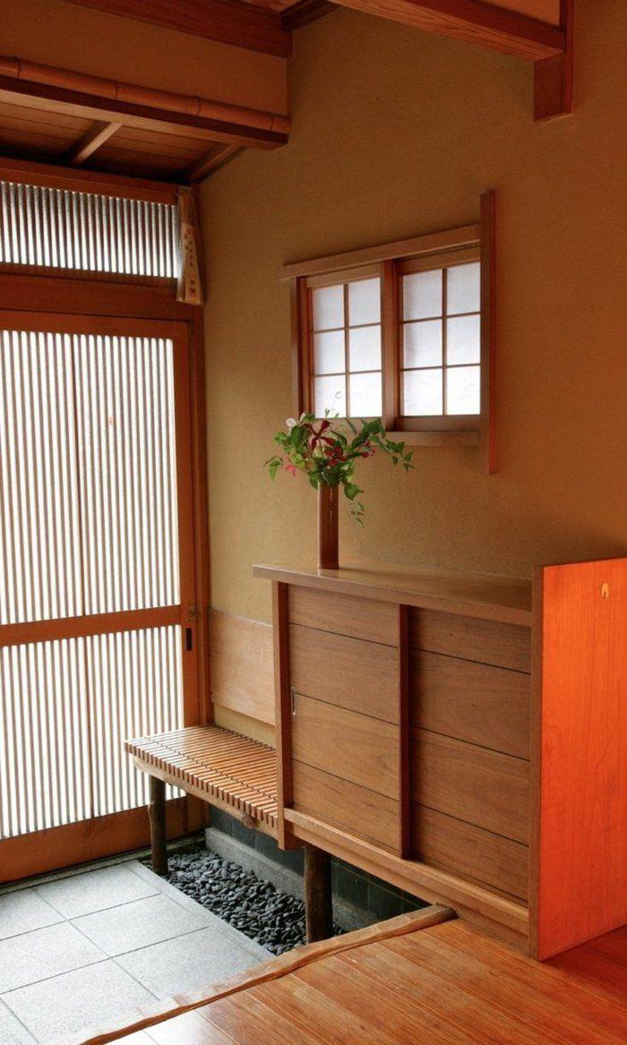 deco japonaise, meuble en bois, décoration en bois, meubles de style chinois