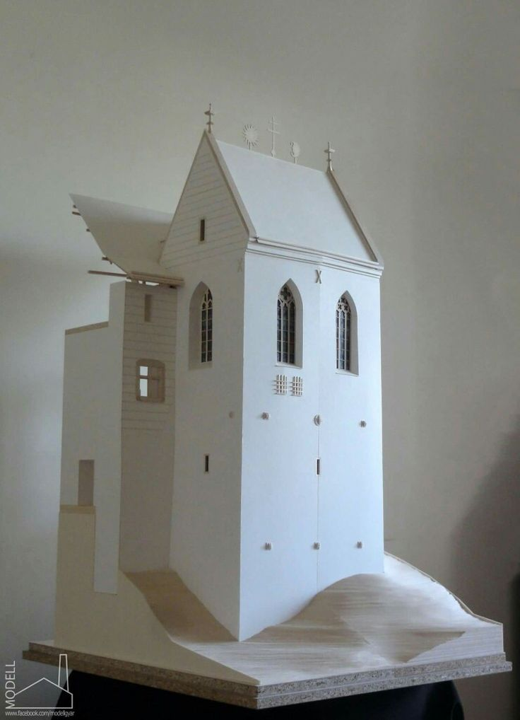 Castle of Füzér section model Scale: 1:25  #godel #architect #architecture #archmodel #model #castle #hungary