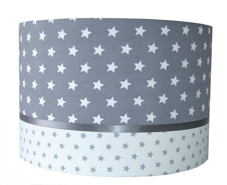 lamp babykamer kinderkamer grijs met sterren