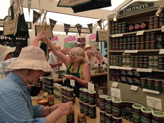 Tracklements at Hampton Court Palace Flower Show #Tracklements #Condiments #HamptonCourt