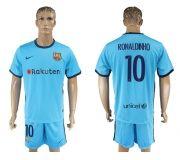 Barcelona FC 17-18 Away soccer kits 16