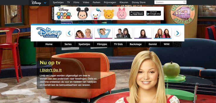 De website van Disney Channel, hier kun je de o.a. de tv-gids bekijken en als je dan op die pagina bent dan zie je een foto en aan die foto weten de kijkers dan gelijk welk programma er nu op tv zonder iets te hoeven lezen! Als zij naar onder scrollen dan staat er nog meer plaatjes van programma's die komen gaan en de tijd wanneer ze komen. Je hoeft dus eigenlijk haast niks te doen om te weten wat er nu op Disney Channel is