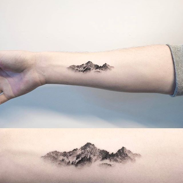 Nature Tattoos On Pinterest: 25+ Best Ideas About Mountain Tattoos On Pinterest