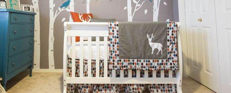 Deer Crib Bedding For Boys : Best images about baby bedding on pinterest deer