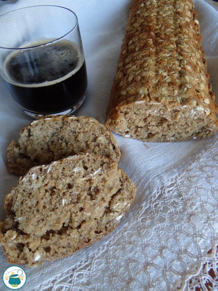 Pane alla birra veloce / ricetta senza lievito