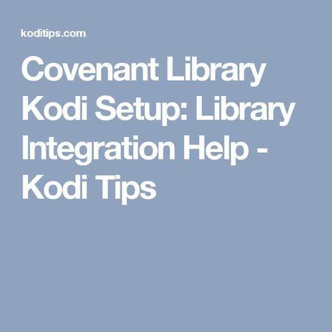 kodi library integration exodus