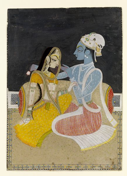 Radha and Krishna (Painting)   V&A Search the Collections