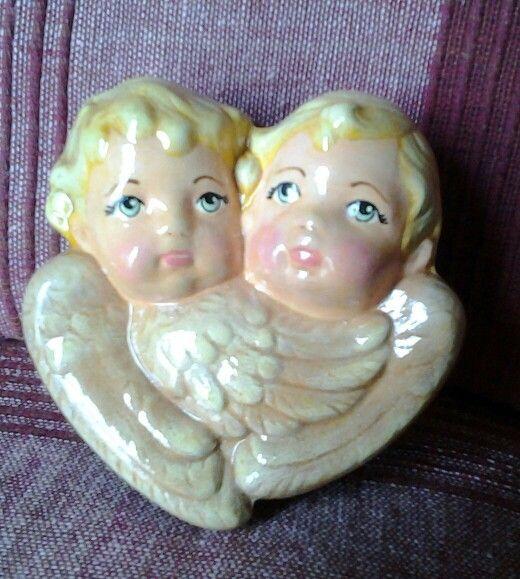 Angeli in ceramica