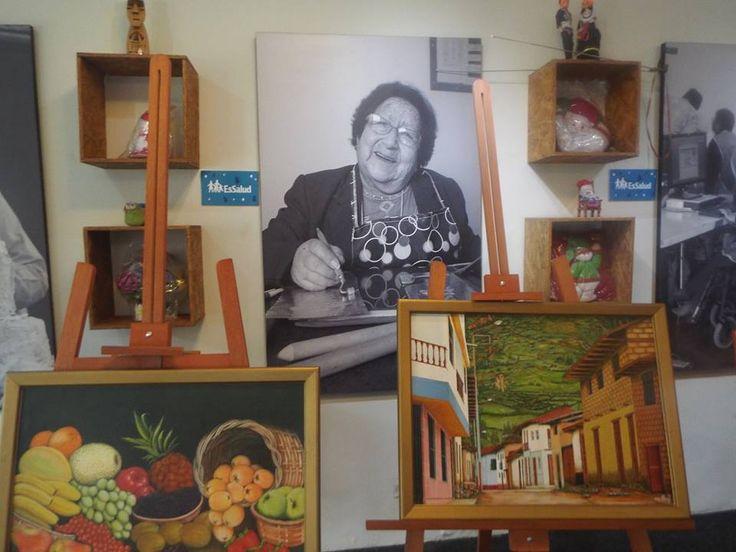 """Luigui Vidal Rivas 29-06-2017 El día 27 de junio,realizamos una visita no programada y sorpresiva,en el corazón de San Borja,en plena avenida Aviación,muy cerca de la av Javier Prado,se trata de la """"Casa de Talentos"""" de EsSalud,un acogedor lugar dedicado al arte de los adultos mayores,donde se exhiben cuadros,esculturas,diversos trabajos artesanales en metal o en …"""