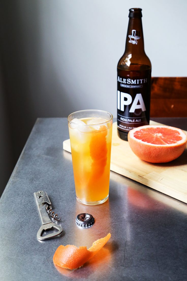 Hop, Skip and Go Naked cocktail  The grapefruit makes this drink ultra refreshing!