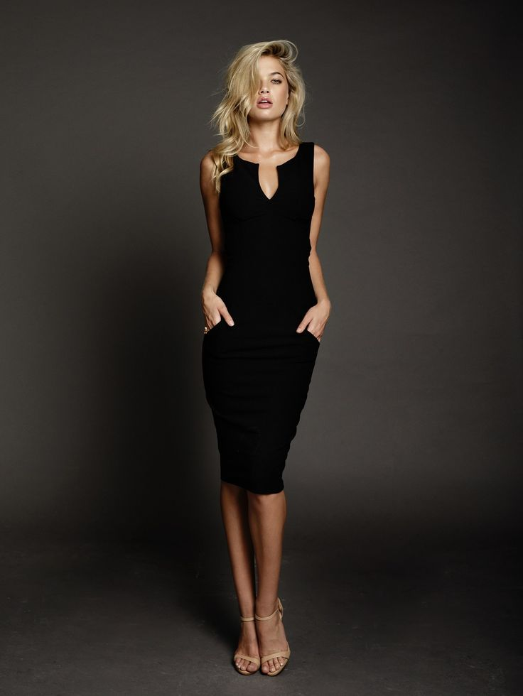 DUKE N CO - Alexis Dress In Black