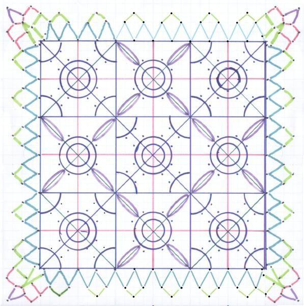 Reticella pattern