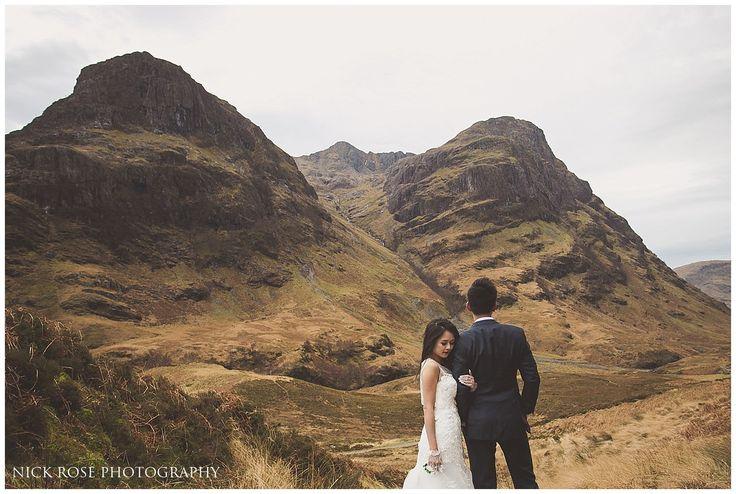 Glencoe Pre Wedding Photography Scotland
