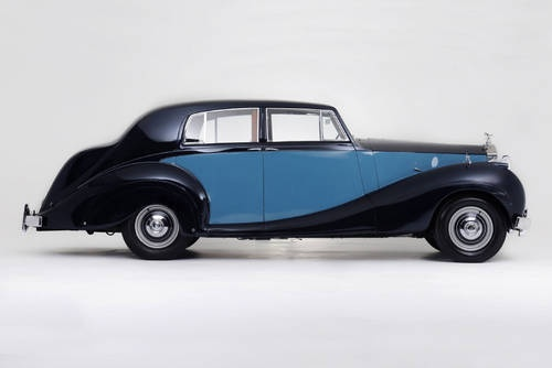George Formby's Rolls-Royce Silver Wraith For Sale (1950)