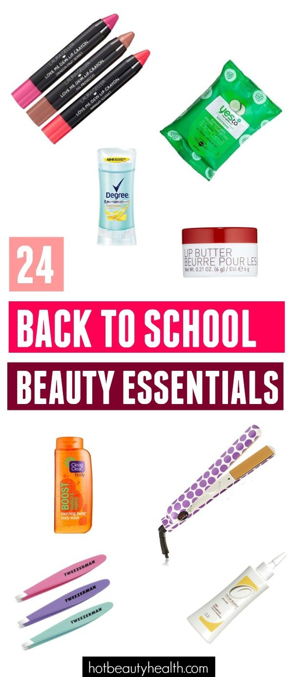 Look your best for your first day of college and beyond with ease by stocking up on all your back to school beauty essentials.
