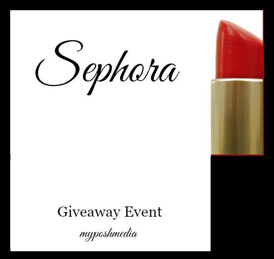 sephora giveaway event