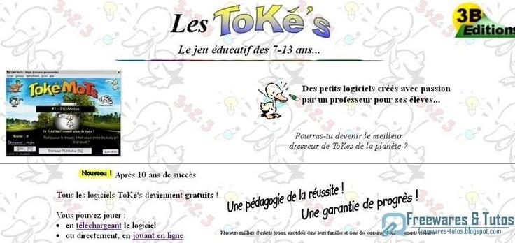 Les ToKé's : des logiciels éducatifs gratuits pour aider les enfants à apprendre en s'amusant (du CP au collège)