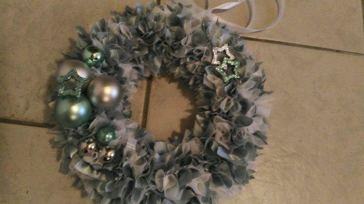 vánoční věneček zelený
