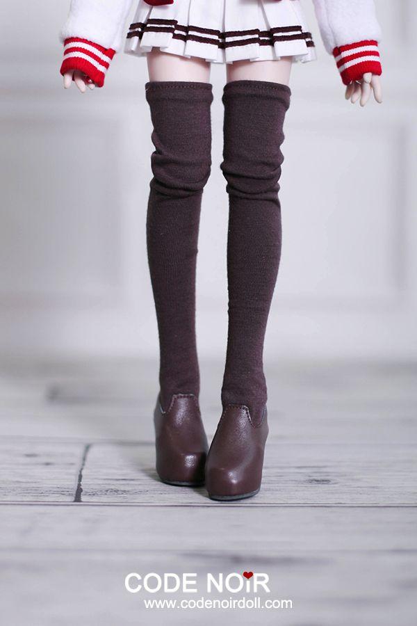 1034bfe701b CMS000075 Brown Thigh-High Stocking Boots (High Heel)  CMS000075  - US
