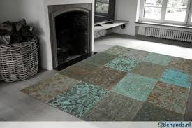Patchwork kleed | By boo http://www.demooistemeubelen.nl/a-39702165/vloerkleden-by-boo/vloerkleed-patchwork-by-boo-turquoise/