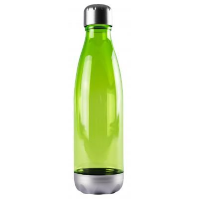 Image of Promotional Tritan Fizzy Bottle, Classic Milk Shaped Bottle Lime green