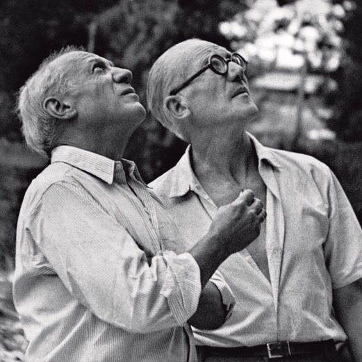 Le Corbusier et Picasso