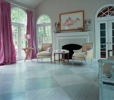 plywood floors by Sterin  via Flickr  Painted Plywood Floors. 25  best ideas about Painted Plywood Floors on Pinterest