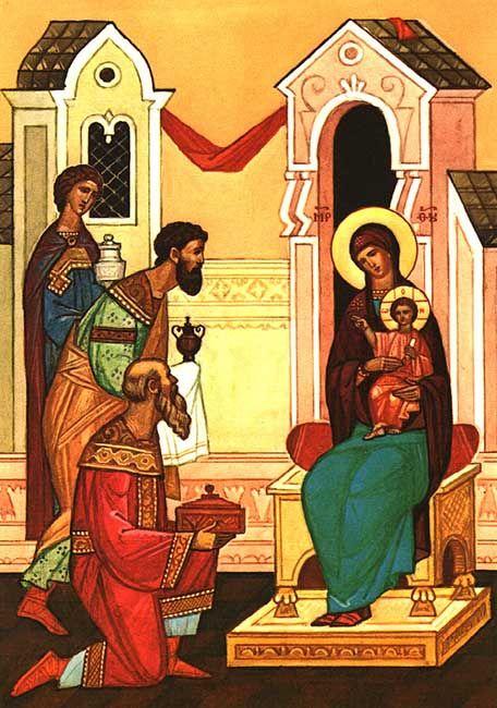 Balthasar, Gaspar & Melchior, Three Magi - December 25