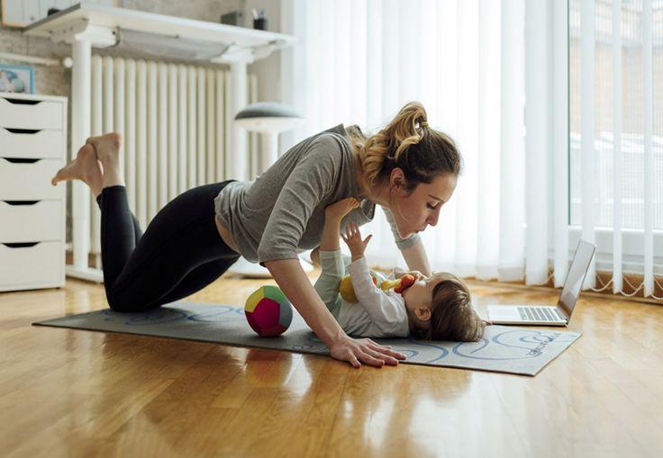 Se her, hvor det især er vigtigt at styrke din krop, når du har gennemgået en graviditet