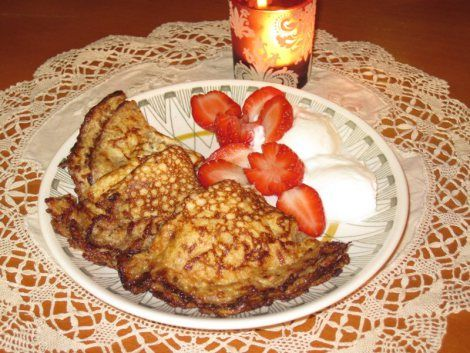 Glutenfri LCHF-Pannkaka