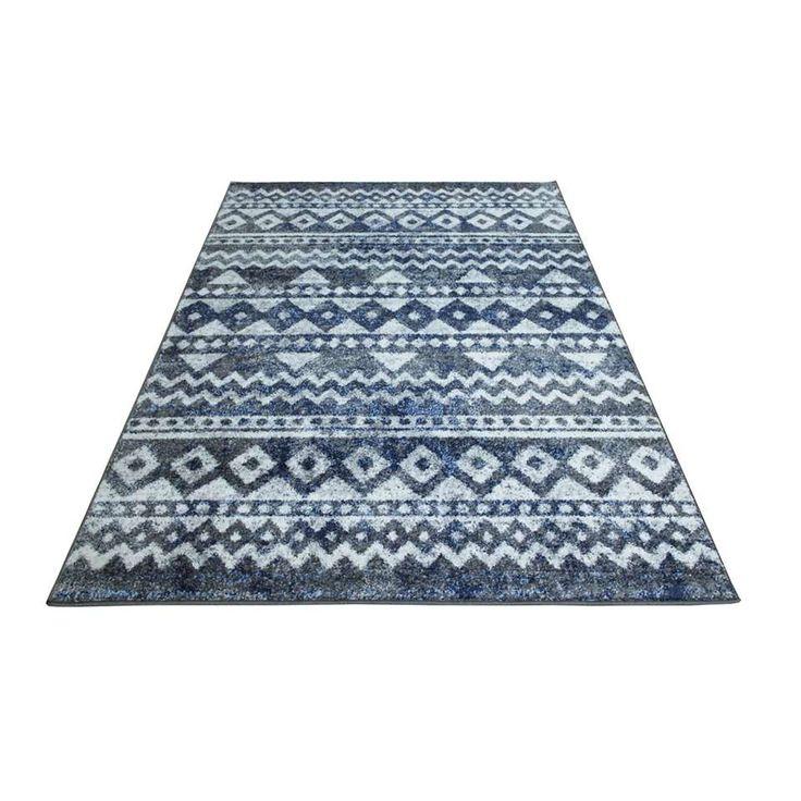 Vloerkleed Florence - blauw - 160x230 cm | Leen Bakker