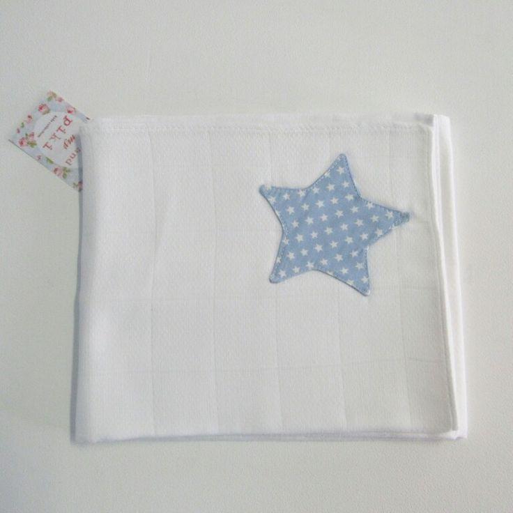 Fralda estrela azul