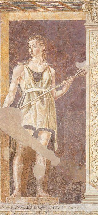 Andrea del Castagno- Eva - Villa Carducci