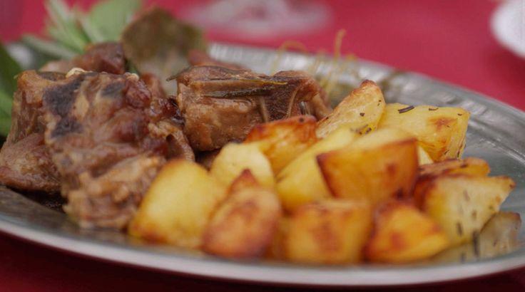 ... dinner recipes slow braised braised lamb potatoes agnello forward slow