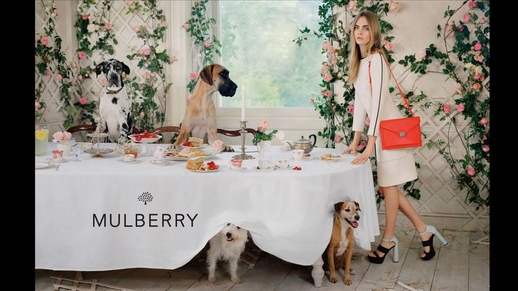 Mulberry Campaign Spring 2014 Model: Cara Delevingne Photographer: Tim Walker