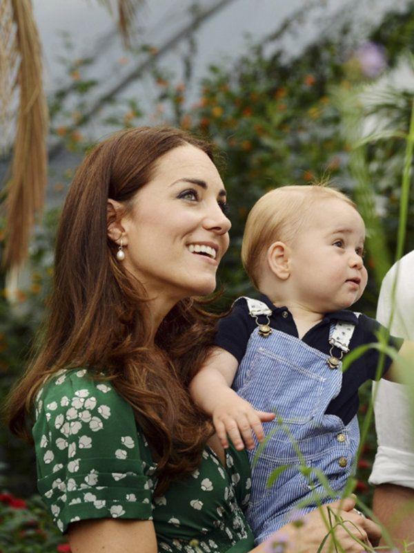 キャサリン妃&ジョージ王子の着こなし最新事情