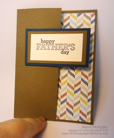 DAD-Pop-Up Name Card by dostamping - Cards and Paper Crafts at Splitcoaststampers