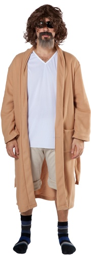 Really want to get this for the manflesh for Halloween!  The Dudes Robe Big Lebowski Costume
