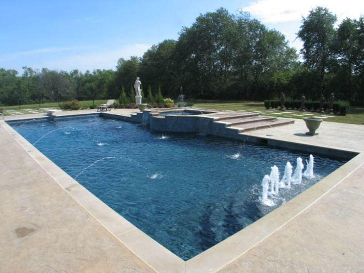 17 best ideas about gunite pool on pinterest | pool designs