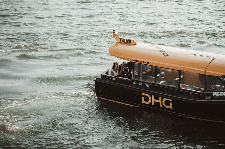 Met de boot naar je bruiloft! Fotograaf: Martijn Roos