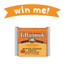 Repin this image for a chance to win Tillamook Sliced Cheese! Contest details here: www.tillamook.com/community/loaflifeblog/april-is-national-grilled-cheese-month/?utm_source=pinterest_medium=social+media_campaign=grilled+cheese+month#GrilledCheese #Win #Contest #RealCheese