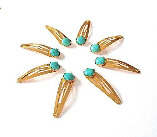 Turquoise Hair Clips - Set of Two Turquoise Magnesite Cro... https://www.amazon.com/dp/B077C8KBFW/ref=cm_sw_r_pi_dp_x_V-1bAb2NACSTN